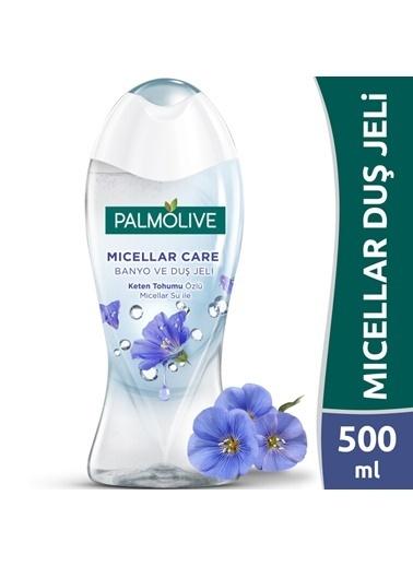 Palmolive Palmolive Micellar Care Keten Tohumu Özlü Micellar Su İle Banyo Ve Duş Jeli 500 ml Renksiz